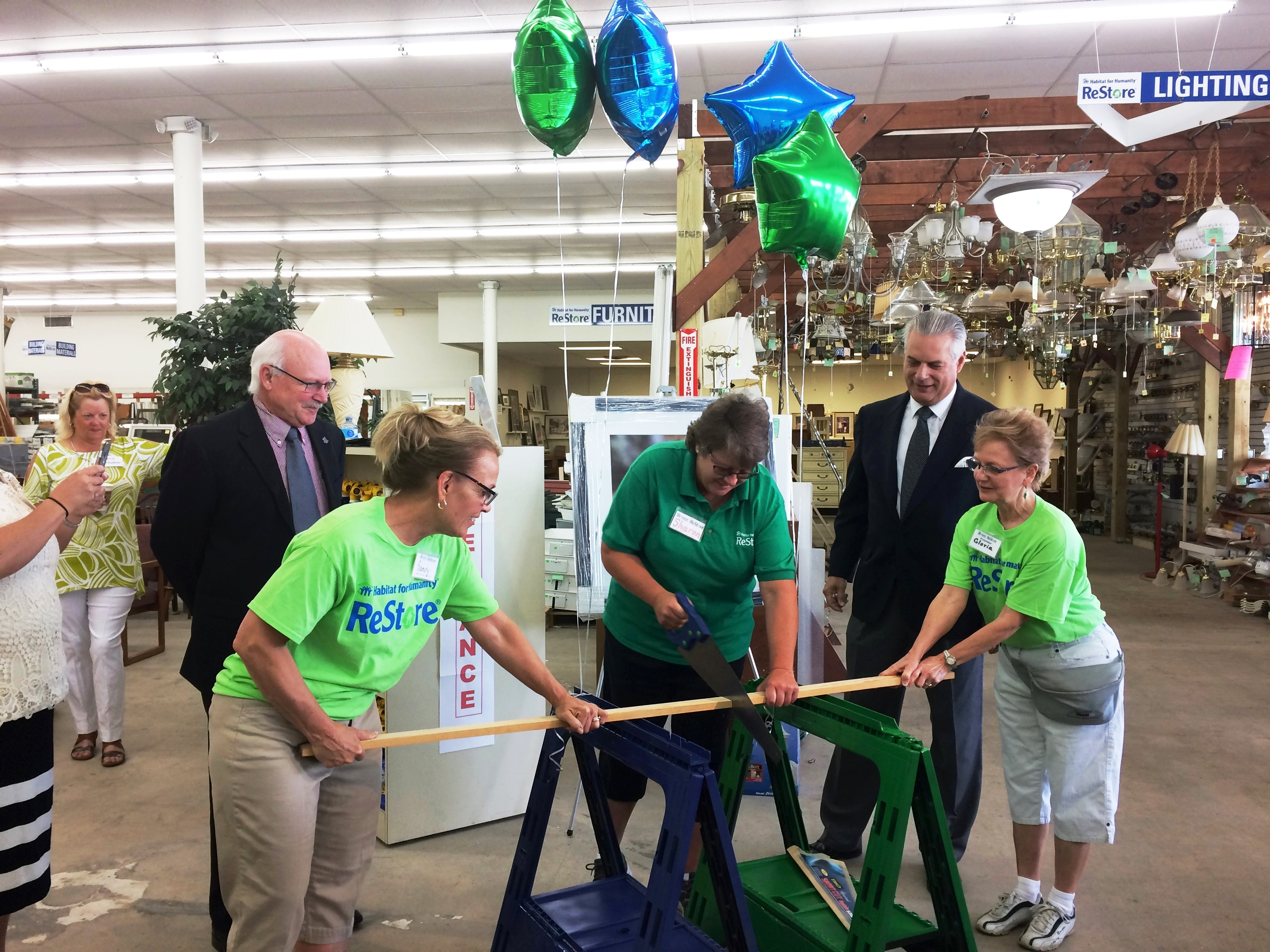 Troy Habitat for Humanity ReStore Celebrates its Grand Re-Opening!