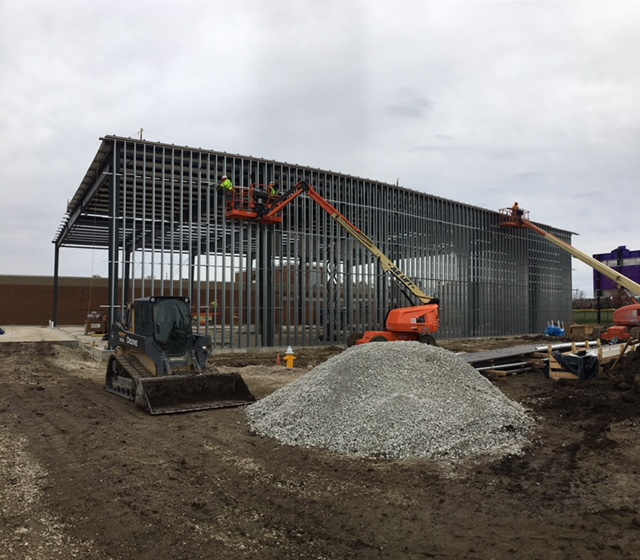Dayton Christian Warrior Center Takes Shape